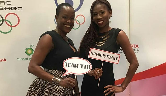 "The Trinidad and Tobago Olympic Committee was praised by Olympic Solidarity director Pere Miró for its ""Female is Future"" campaign which was highlighted at its 23rd Annual Awards Gala in Port of Spain ©Facebook"