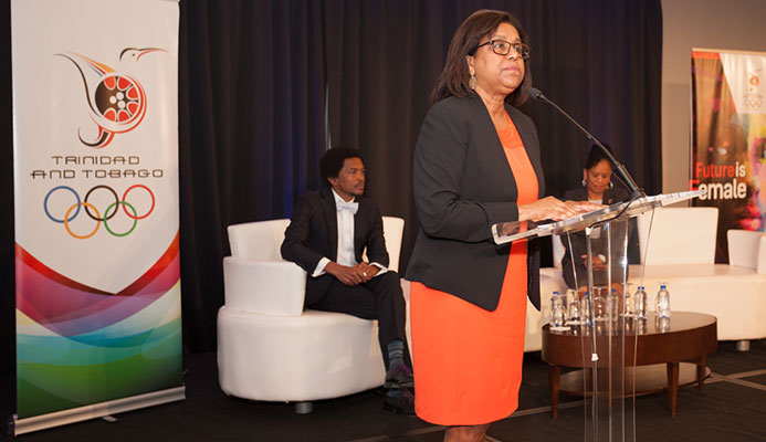 Senator the Honourable Paula Gopee-Scoon, Minister of Trade and Industry