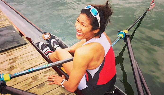 How Aisha Chow became Trinidad and Tobago's first Olympic rower