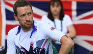 Bradley Wiggins has had to clarify apparent inconsistencies between what he wrote in 2012 about the use of needles and the details that have emerged via the Fancy Bears hackers. Photograph: Eric Feferberg/AFP/Getty Images