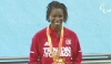 CONGRATULATIONS NYOSHIA: T&T Paralympian athlete Nyoshia Cain secured the bronze medal in the women's 100m T44 final at the Paralympic Games in Rio, Brazil, on Saturday night.