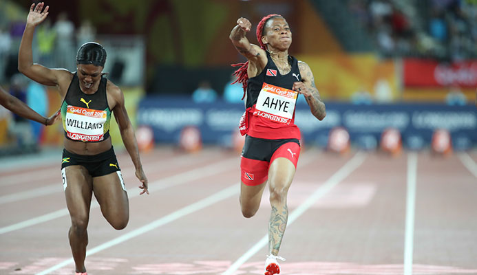 Trinidad and Tobago's National Champion Michelle Lee Ahye. Photo: Allan_V._Crane