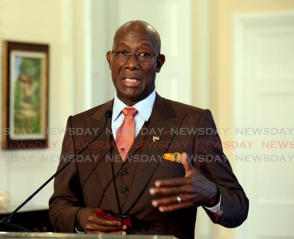 Dr Keith Rowley -