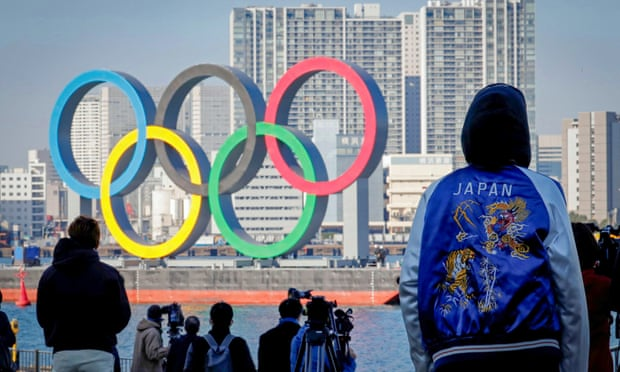 Two hundred days before the scheduled start of the Olympics, Japan's borders remain shut. Photograph: Kim Kyung-Hoon/Reuters