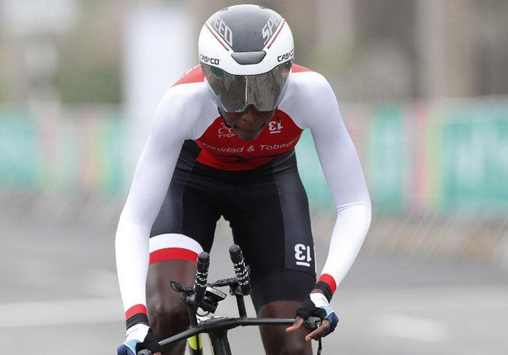ALREADY QUALIFIED FOR OLYMPICS: Road cyclist Teniel Campbell. —Photo: AP