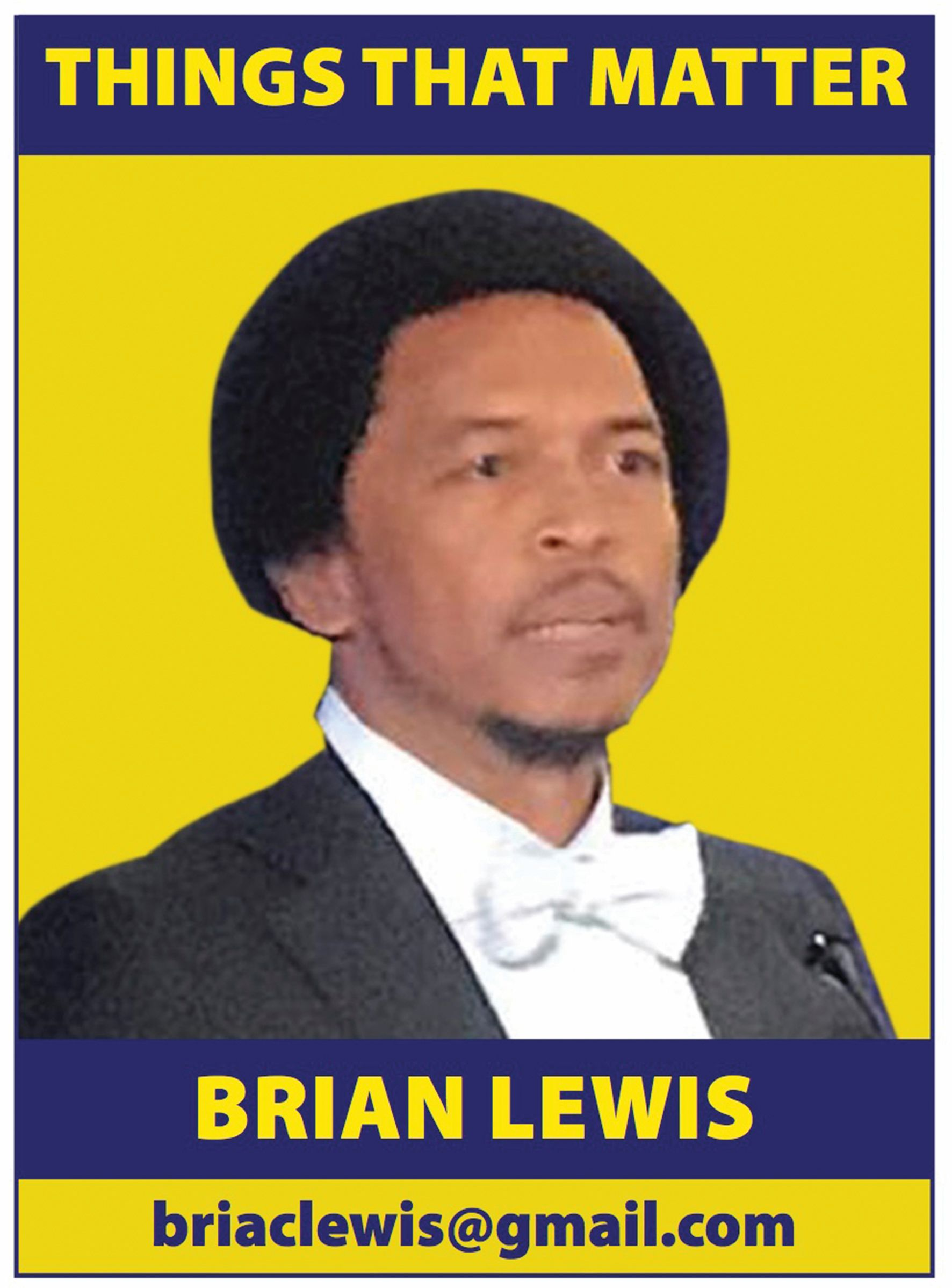 Mr. Brian Lewis, Things That Matter