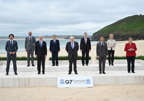 G7 leaders reiterate support for